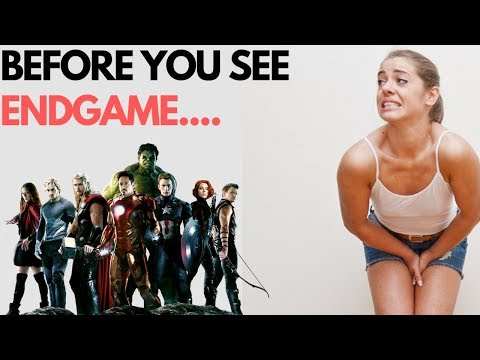Before You See Avengers: EndGame WATCH THIS! (I REFUSE To Review It!)