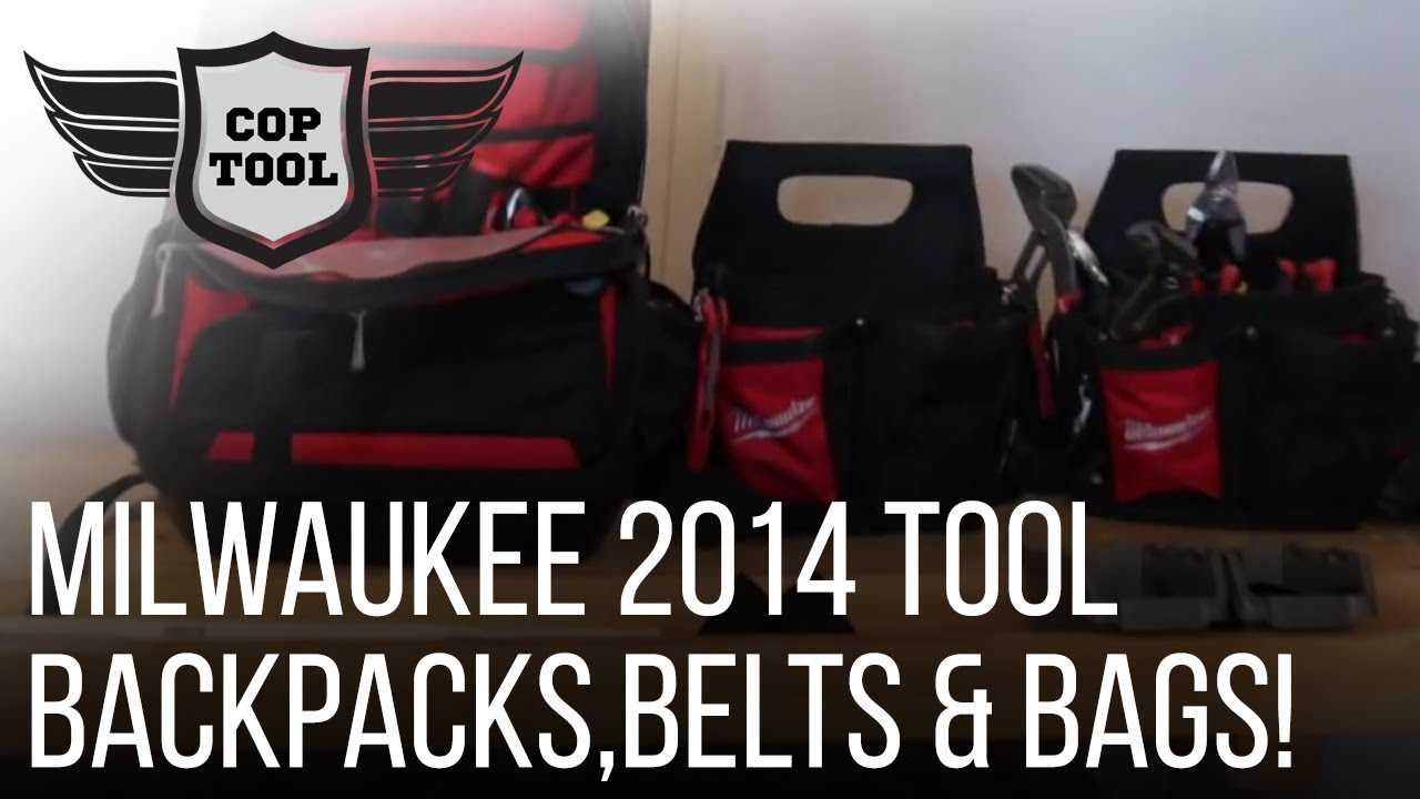 milwaukee contractor tool belt. milwaukee tool backpack, belts \u0026 electricians bags contractor belt