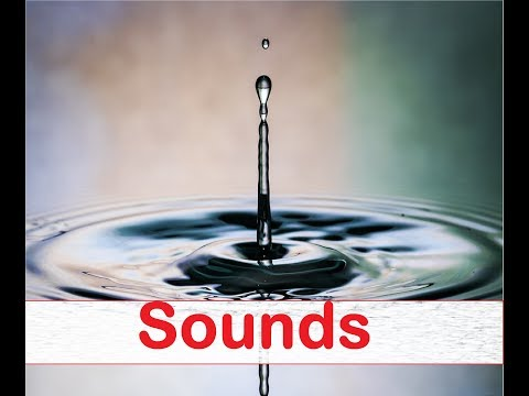 Water Drip Sound Effects All Sounds