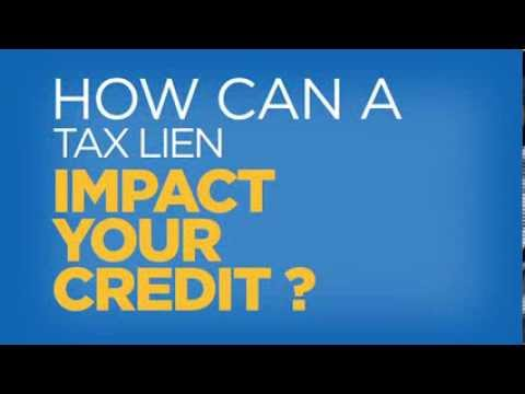 How Can Tax Lien Impact Your Credit