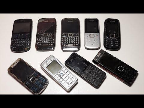 Телефонный маньяк ! Срочно 9 Крутых ретро Nokia с аукциона на шару под Новый год 2020