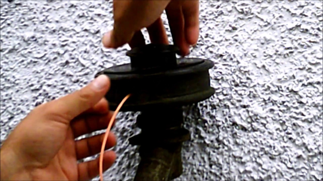 How to put trimmer line on an echo srm 225 weed eater in under a how to put trimmer line on an echo srm 225 weed eater in under a minute greentooth Choice Image