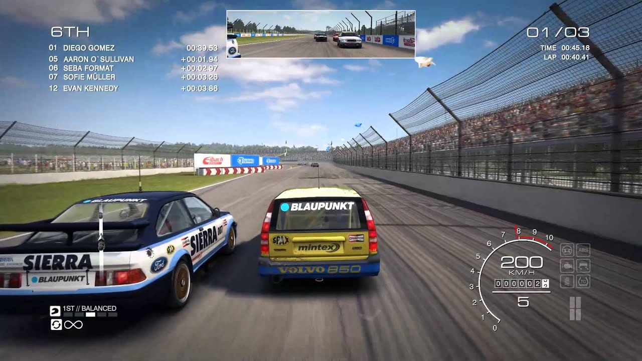 Grid Autosport Volvo 850 Estate Touring Car Top Speed Youtube