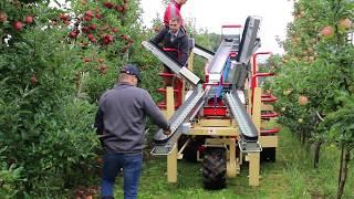 Kombajn do zbioru jabłek – Meccanica Zucal, Activ, Wilanów 2017