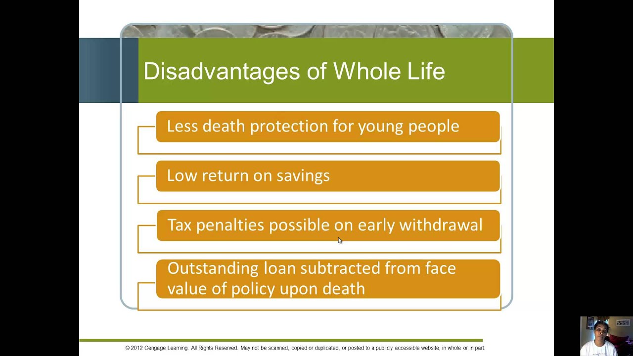 Whole, Universal and Variable Life Insurance - YouTube