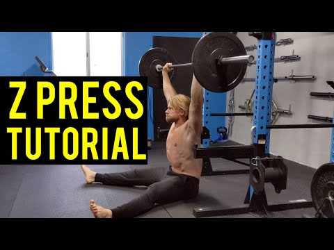 How To Perform The Z Press | Experts Only Shoulders Exercise