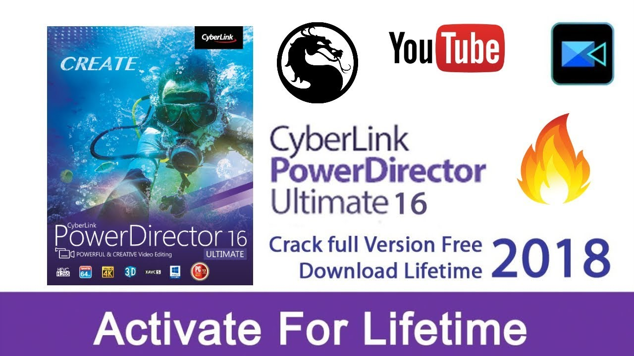 cyberlink powerdirector 16 crack download