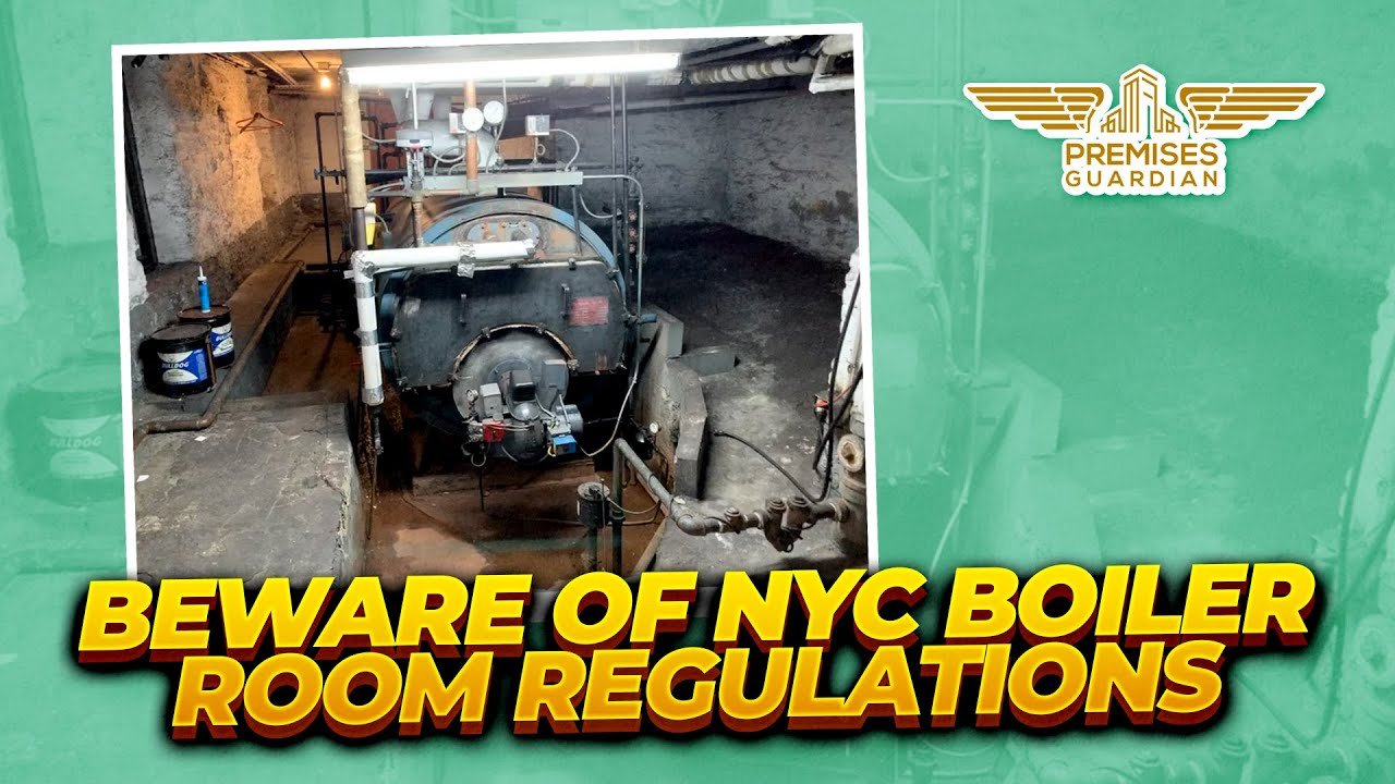 Learn about New York City regulations for hot water and heating systems