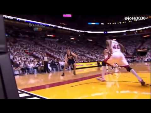 Udonis Haslem Flagrant Foul on Tyler Hansbrough   Pacers @ Heat 2012 NBA Playoffs   YouTube1
