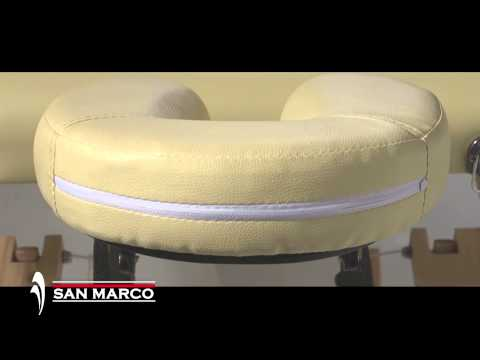 Lettino Massaggio San Marco.Lettino Massaggio In Legno A 4 Sezioni San Marco Youtube