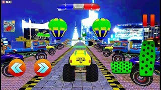 Ramp Monster Truck Stunts New Racing Games - 4x4 Suv Car Games - Android GamePlay