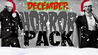 December 2018 Blu Ray Horror Pack Unboxing