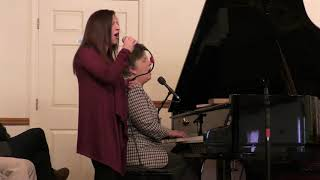 Candice Cobado and Rose Fisher - Touch Through Me (RCBC 1-21-18)