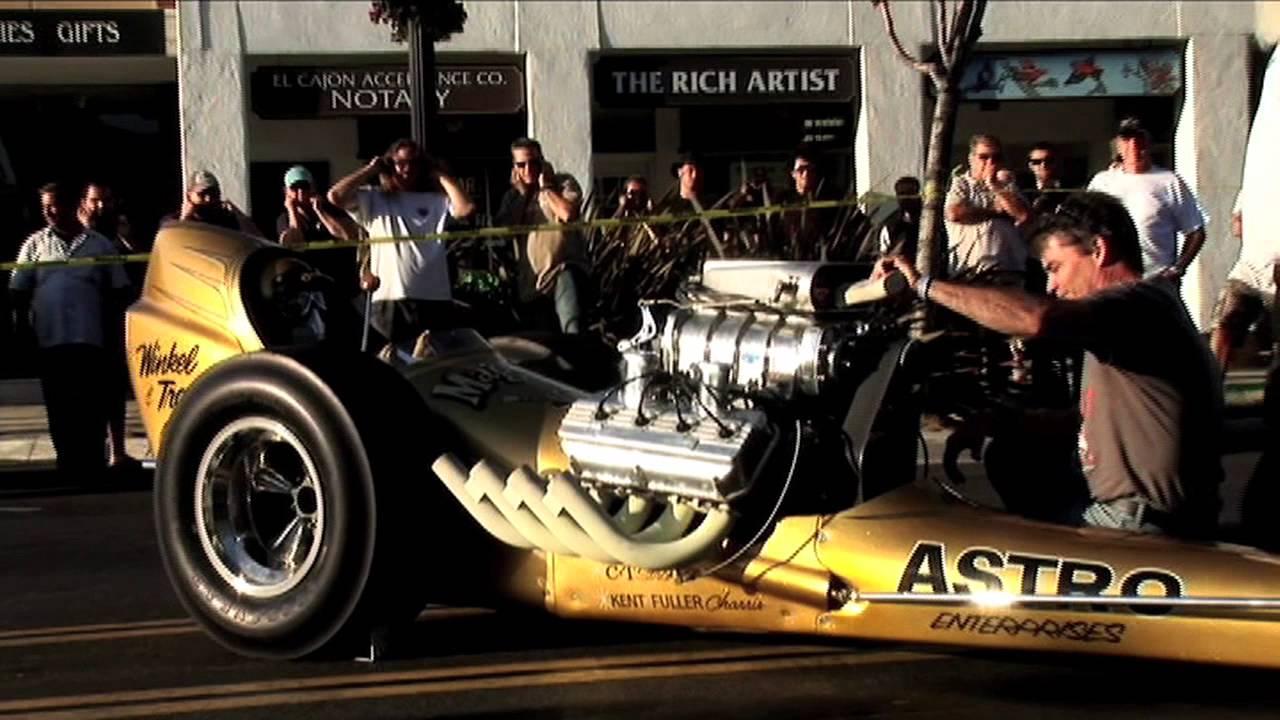 Thunder On Main Cackle Cars At Cajon Classic Cruise Youtube