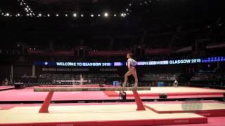 SCHAEFER Pauline (GER) - 2015 Artistic Worlds - Qualifications Balance Beam