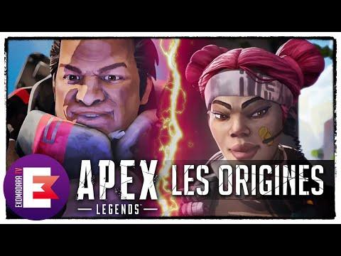 MÊME COMBAT ! LES ORIGINES DE LIFELINE ET GIBRALTAR   Apex Legends