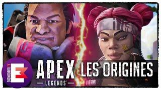 MÊME COMBAT ! LES ORIGINES DE LIFELINE ET GIBRALTAR | Apex Legends
