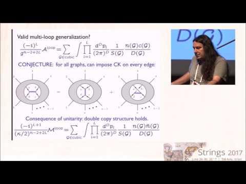 0900 1000  John  Joseph Carrasco   Recent Progress From amplitudes V1