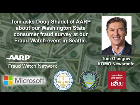 New AARP Consumer Fraud Survey on KOMO Radio