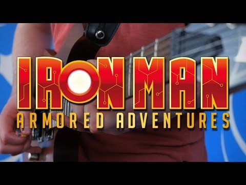 Iron Man: Armored Adventures Theme on Guitar
