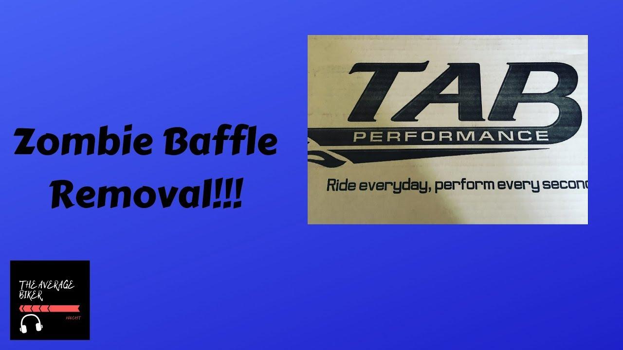 Removing TAB Performance Zombie Baffles