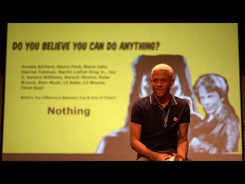 """""""The World Is Yours"""" A Lecture by: Demetrius Harmon"""