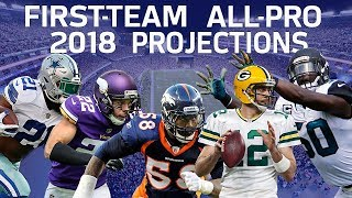 Predicting the 2018 All-Pro Team   NFL