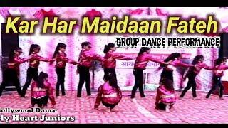 Kar Har Maidaan Fateh || Dance Performance  || Sanju Movie || Holy Heart Juniors || Bollywood Medly