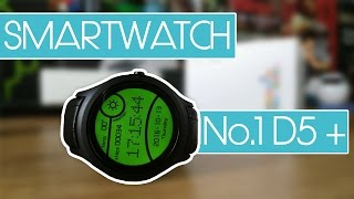No.1 D5+, un smartwatch con 3G & 1GB Ram muy completo | Review