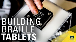 Refreshable Braille Device