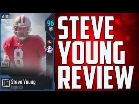 How Good is 95 Overall Steve Young? MUT 18 Player Review