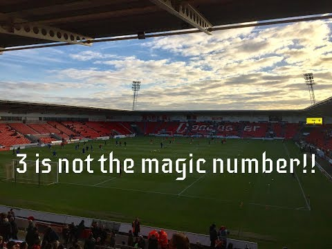 Doncaster Rovers v Scunthorpe United FAC Round 2 *vlog*