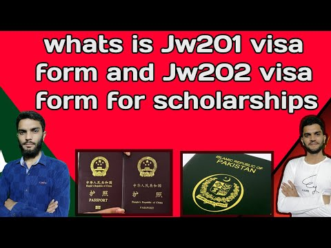 What Is The Difference Between Jw201 And Jw202 Visa Form Csc Guide Official