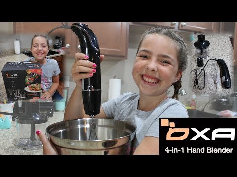 OXA 4-in-1 Hand Blender Review & Smoothie