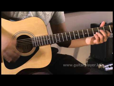 Акустическая гитара (медиаторная техника)