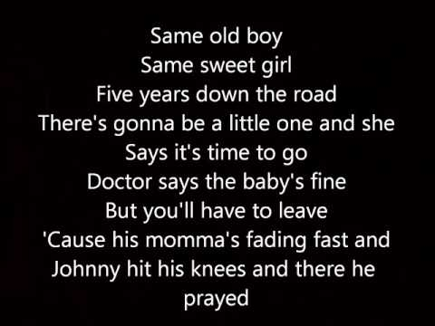 Tim McGraw- Don't take the girl lyrics