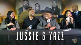 Jussie Smollet & 'Yazz' Gray Up Close & Personal w/ EMPIRE Fans!
