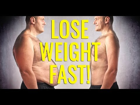 how to lose weight fast and easy for men