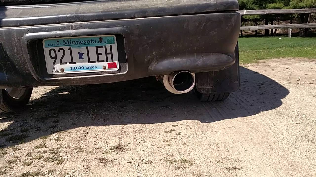 hight resolution of magna flow muffler on geo metro