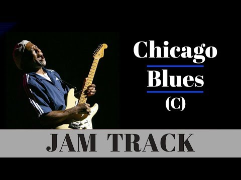 Chicago Blues Backing Jam Track (C)