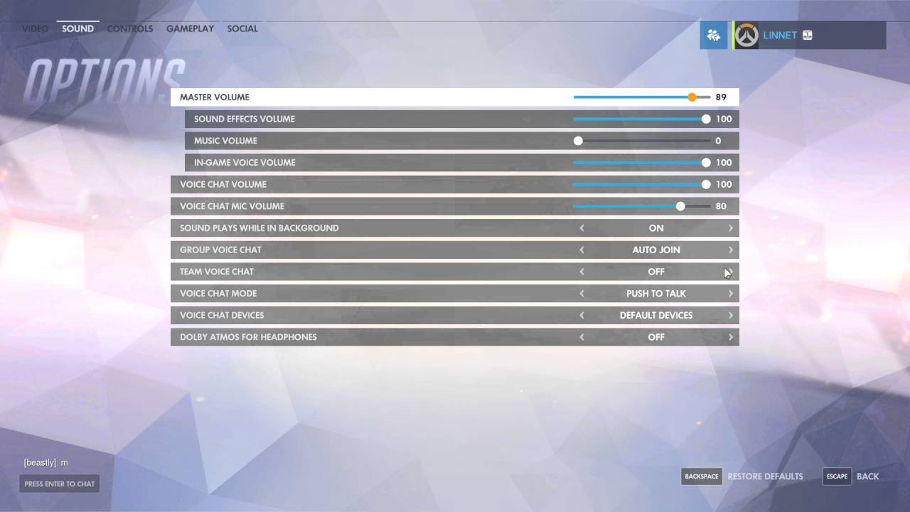 How To Turn On Team Voice Chat In Overwatch YouTube