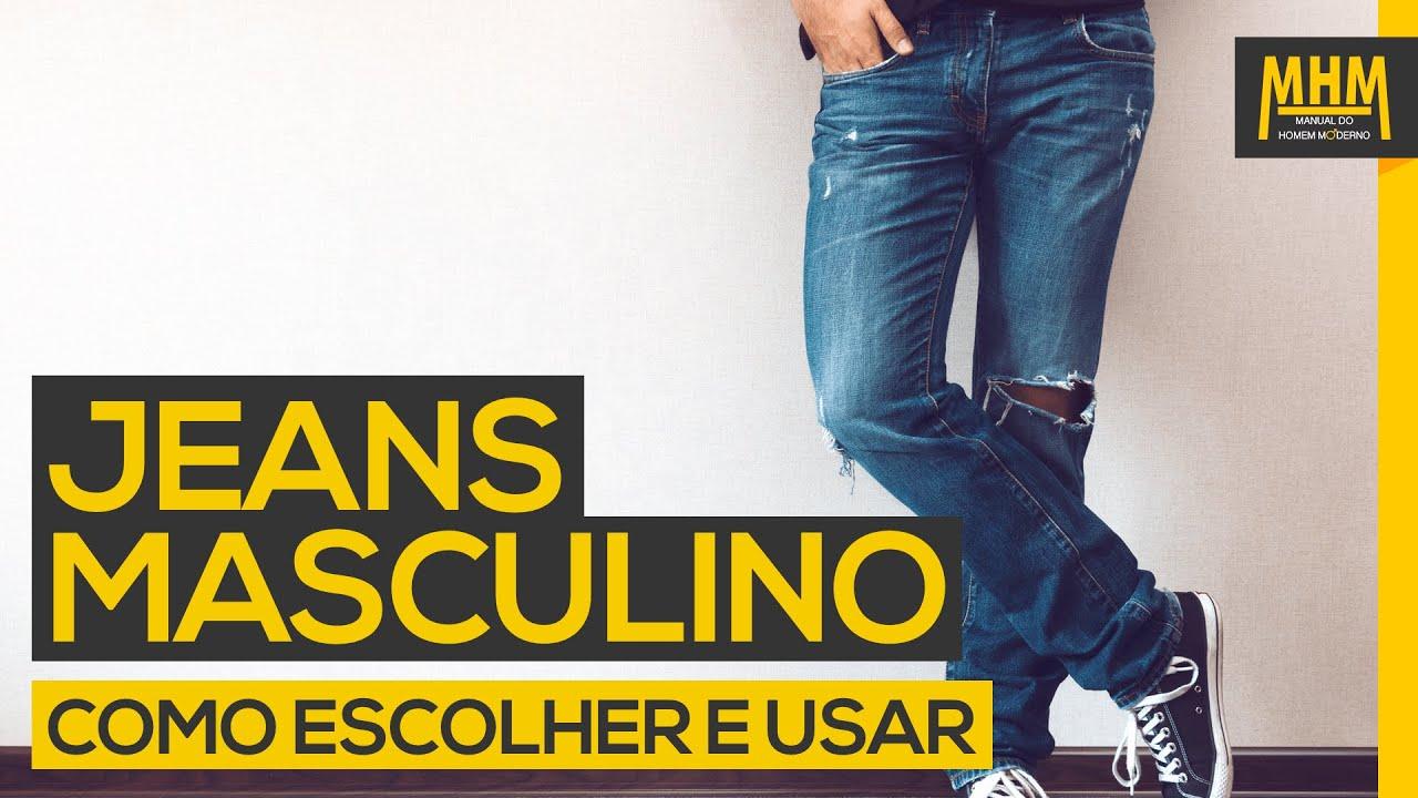 c9d7631ac Jeans Masculino - 5 dicas para escolher e usar   Moda Masculina ...