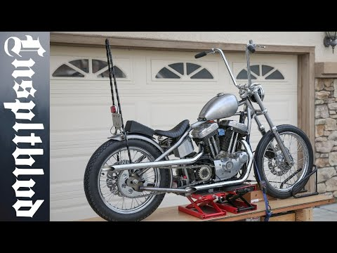 Sportster Build Update | PS-41 Tail Light, Ledsled Oil Tank and more
