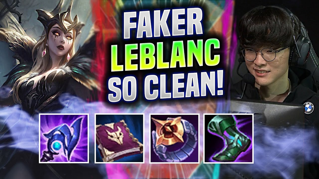 FAKER INSANE 🔥LEBLANC QUADRAKILL!🔥 - T1 Faker Plays Leblanc Mid vs Katarina! | Be Challenger