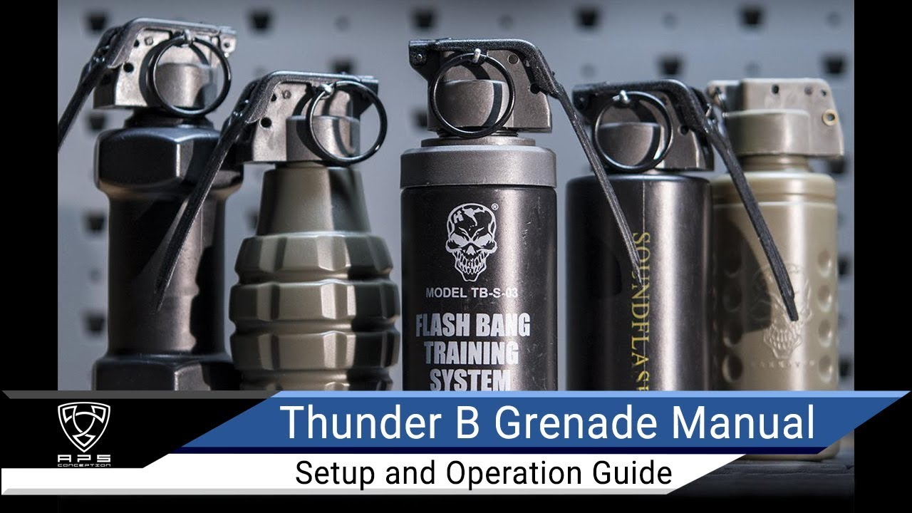 Valken Airsoft Thunder B Grenade Shells 12 Pack SoftAir Co2 Operated