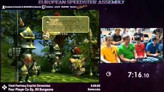 #ESA15Purple - Final Fantasy Crystal Chronicles [ Four Player Co-Op, All Dungeons ] Co-op Speedrun