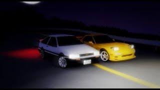 AE86 Turbo vs FD3s (Wataru Akiyama vs Keisuke Takahashi) | Roblox Initial D Remake #12