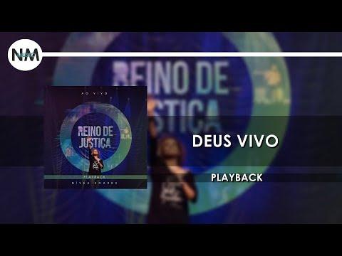 Deus Vivo - CD Reino de Justiça PLAYBACK Nivea Soares (n'music gospel)