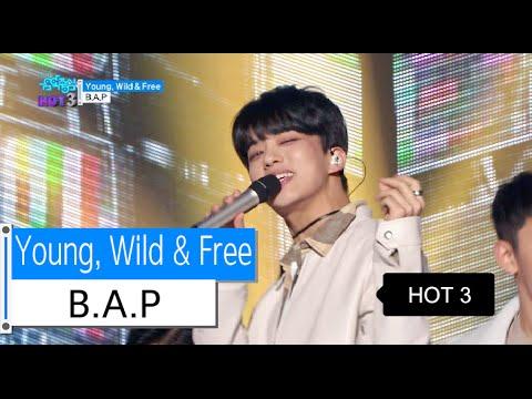 [HOT] B.A.P - Young, Wild & Free, 비에이피 - 영 와일드 앤 프리, Show Music core 20151212