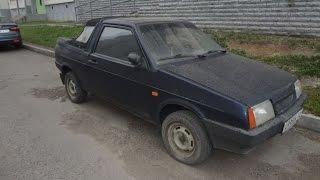 видео ВАЗ 2108 Кабриолет